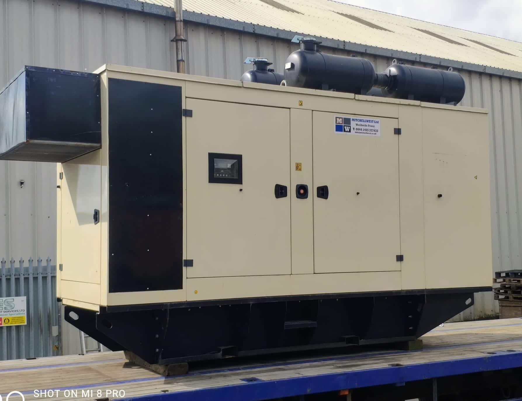 450 Kva Doosan/MeccAlte Acoustic Generator for sale