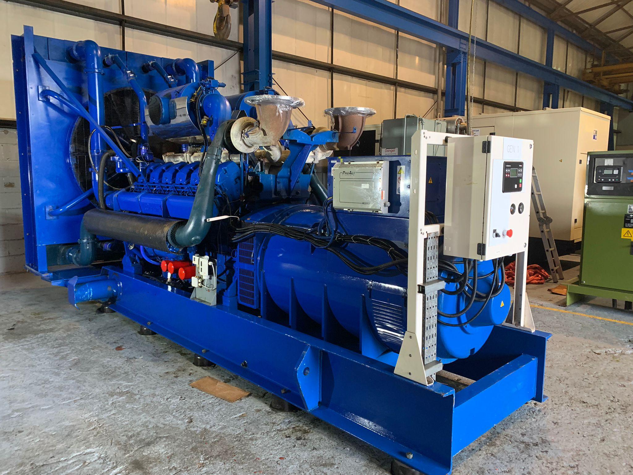 1650  Kva Perkins/Stamford  Open Type  Generator for Sale