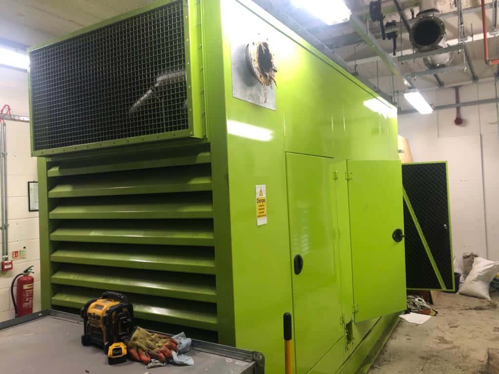 250 kva  Scania/Leroy Super Silent  generator